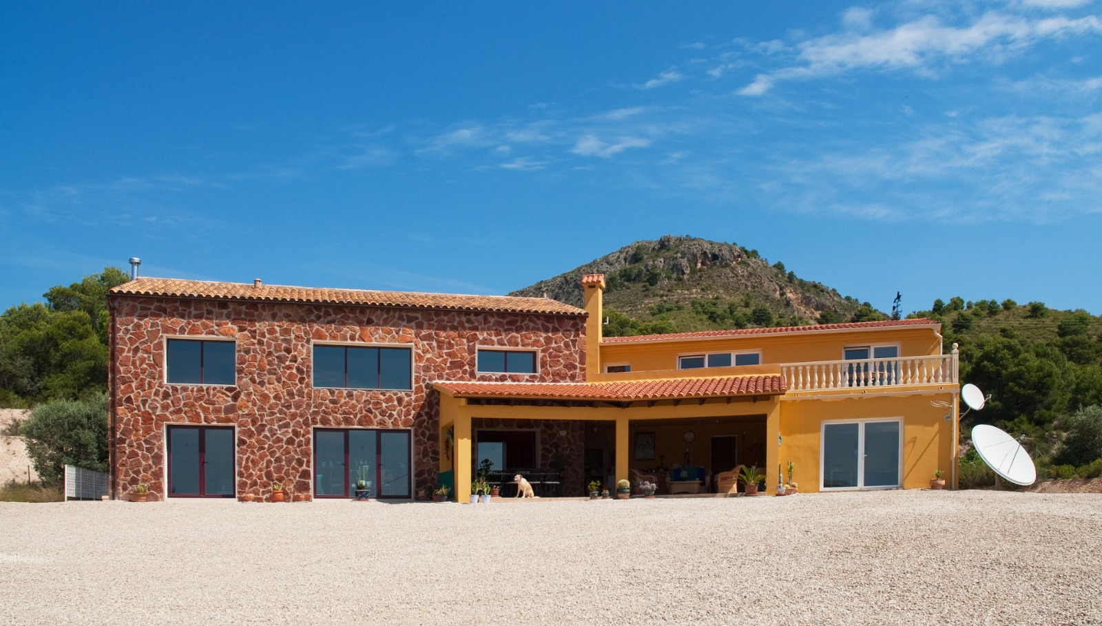Finca Renovation Finistrat