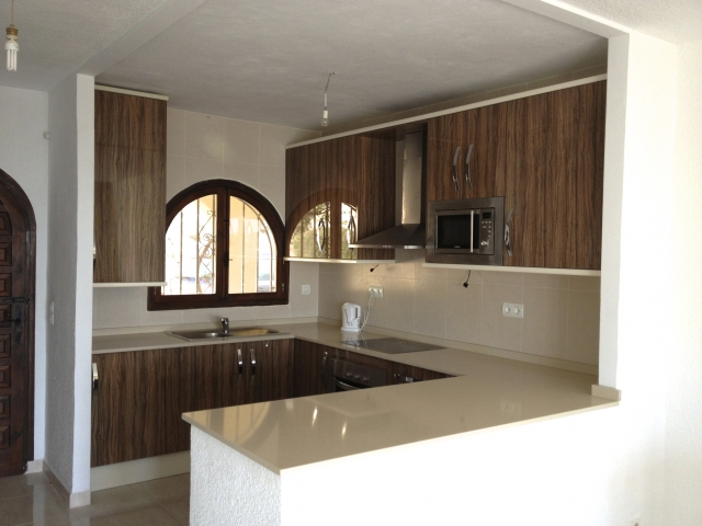 finished kitchen refurbishments in Altea