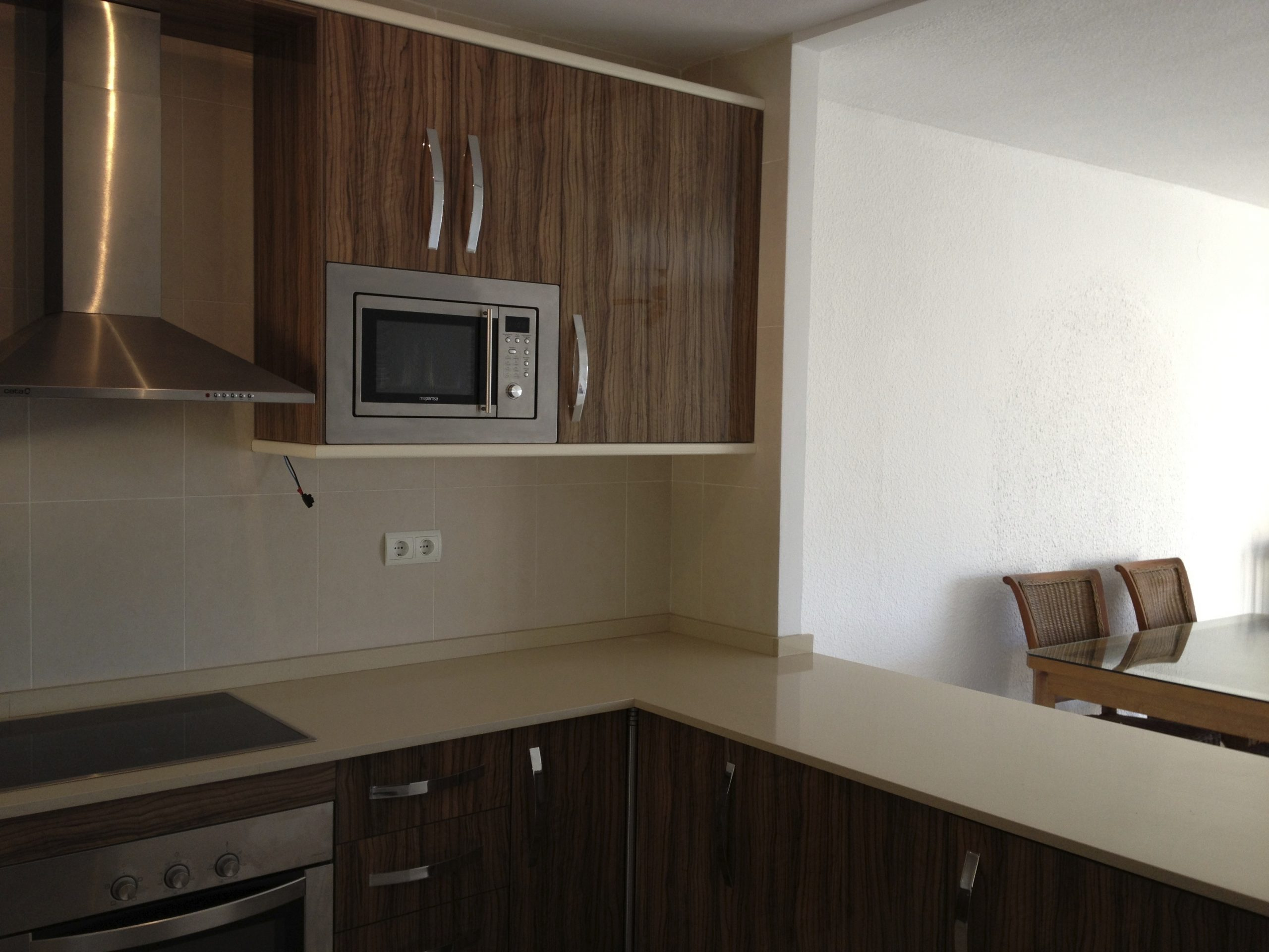 finished kitchen in Atea
